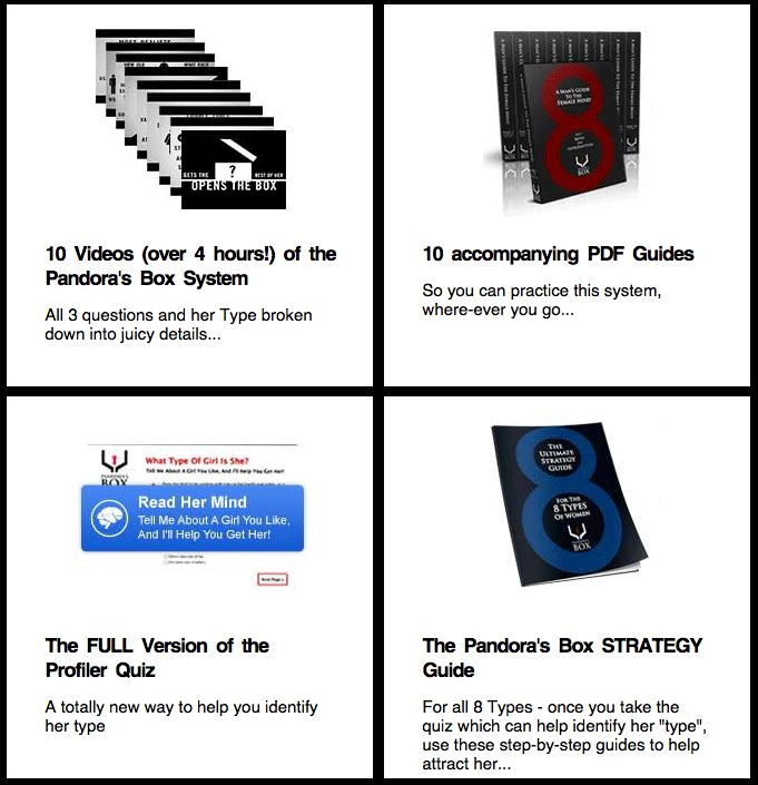 Here I reveal exactly how to typecast each personality type in 3 steps using the Vin DiCarlo Pandoras Box system…