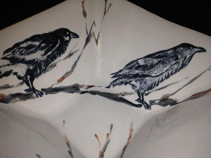crow stamp