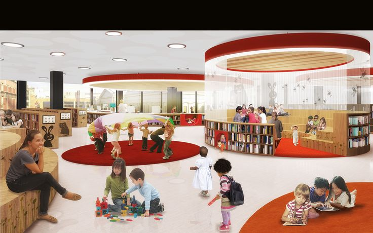 Renderings Reveal the Brand Spanking New MLK Library - Renderings ...
