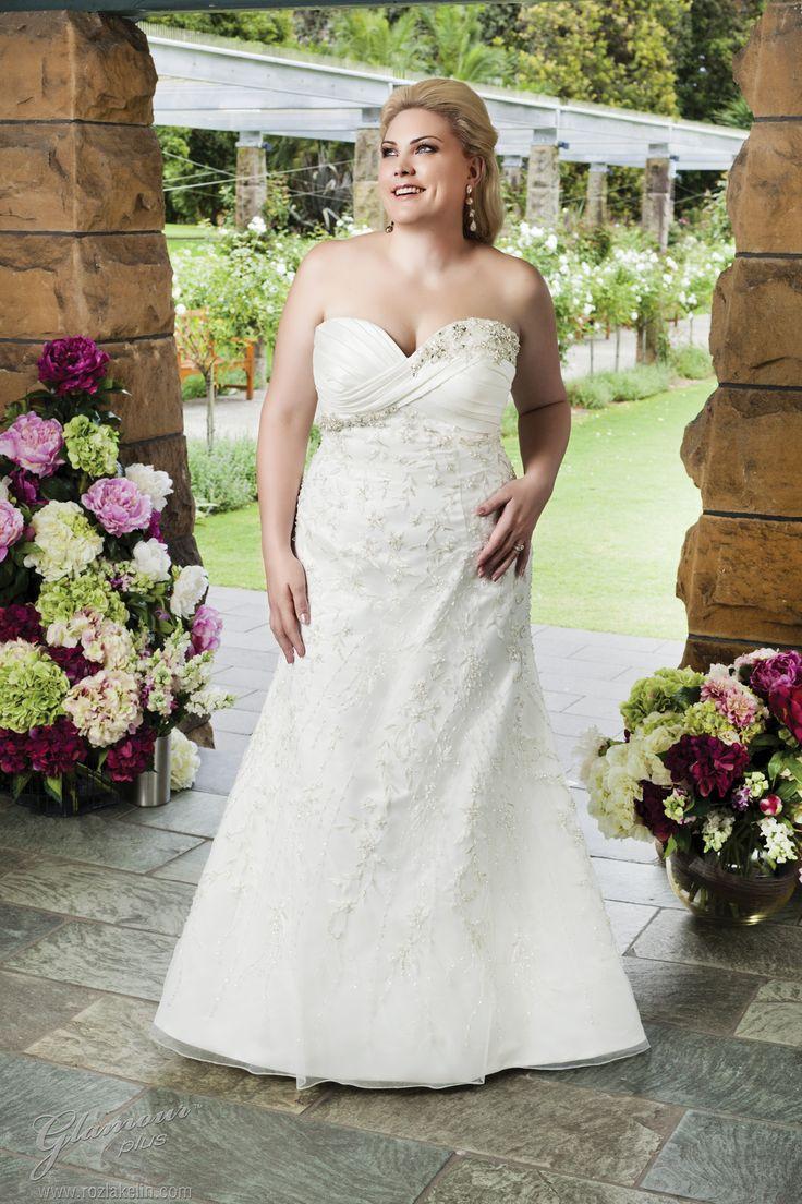 57 besten Plus Size Wedding Dresses <3 Bilder auf Pinterest ...