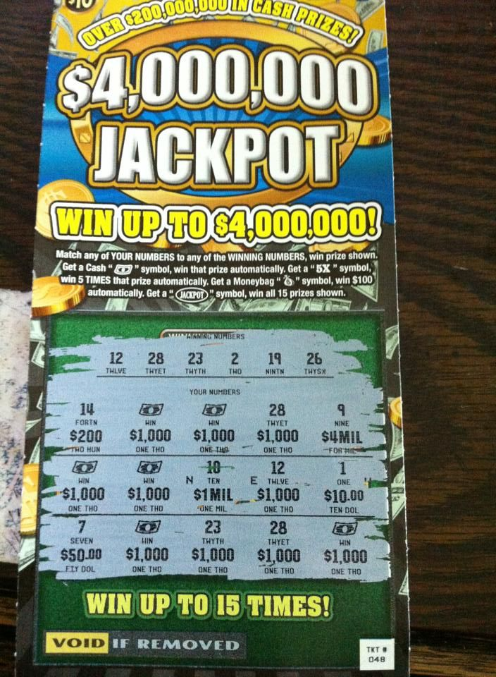 Pin On Winning Scratch Offs