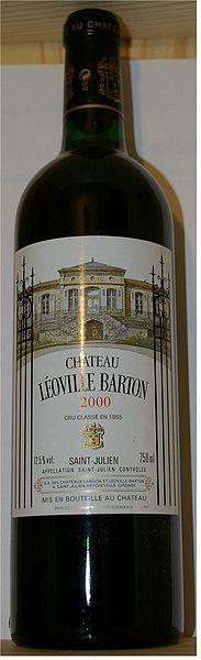 Chateau Leoville Barton - a French chateau of Irish ancestry.