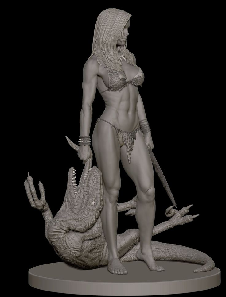 Shanna the She-Devil collectible statue. Created while I was at Gentle Giant Studios.