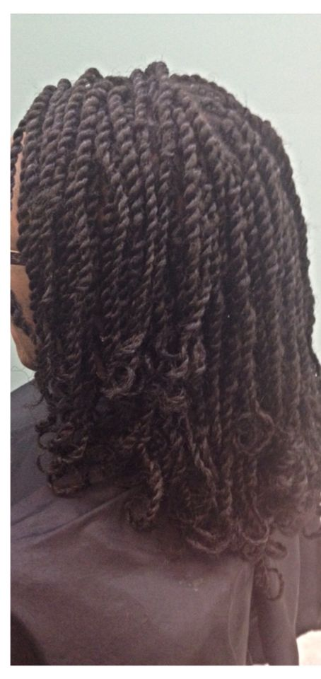 summer protective styles for relaxed hair mini marley twist with curls hairstyles by me 6576
