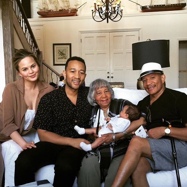 We've Been Spoiled With So Many Snaps of John Legend and Chrissy Teigen's Daughter