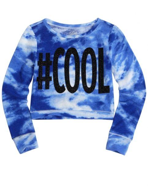 Super Soft Crop Sweatshirt | Girls Tops & Tees Clothes | Shop Justice