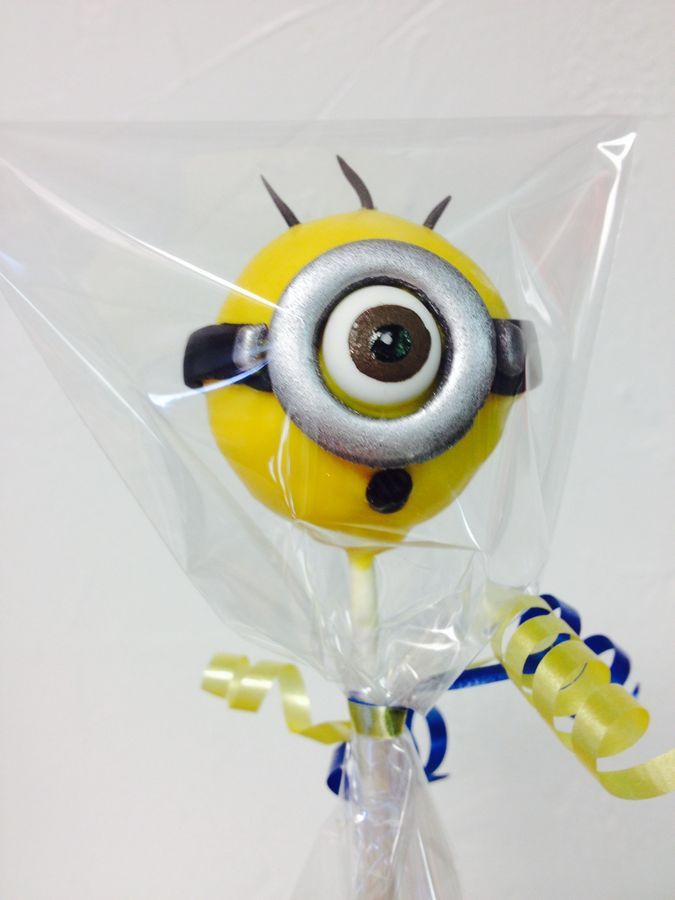 25+ best ideas about Minion Cake Pops on Pinterest ...