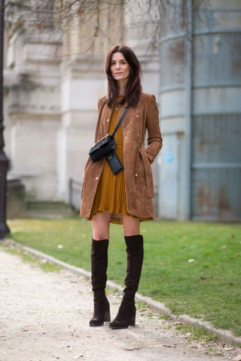 Hedvig Opshaug - in love with her outfit at Paris Fashion week!! Comes into my style file for fall 2015