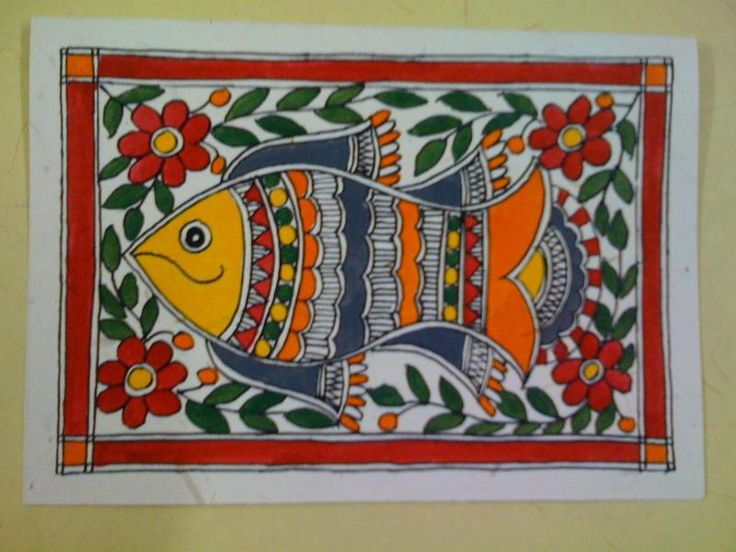 Madhubani Arts India - About Madhubani Paintings
