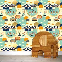 Wallpaper tapet - Cirkus