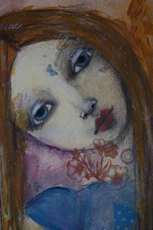 Gypsy Journal girl blue