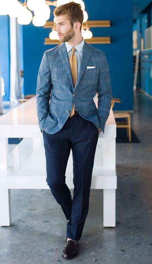Andre Hamann menswear fashion