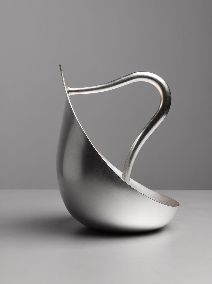 Silver Pourer by Aldo Bakker