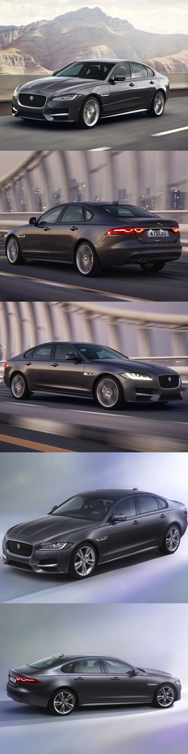 The Feature Filled – All-New Jaguar XF  An altogether better Jaguar XF lighter…