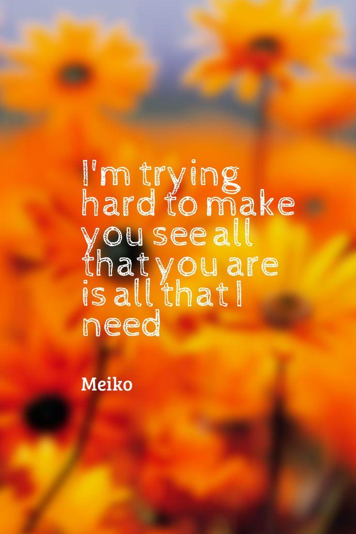 meiko- leave the lights on lyrics