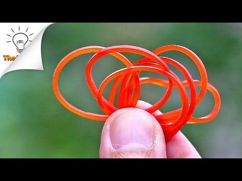 22 SUPER astuces pour utiliser les élastiques de caoutchouc de façons surprenantes! - Trucs et Astuces - Trucs et Bricolages