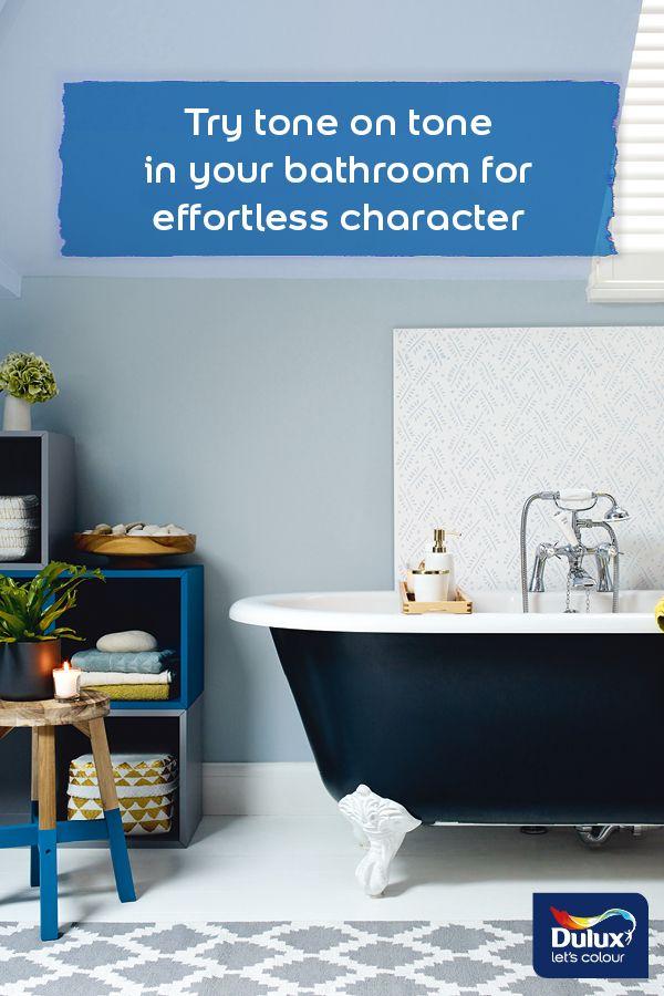 Looking For A New Year Bathroom Decor Idea Tone On Tone