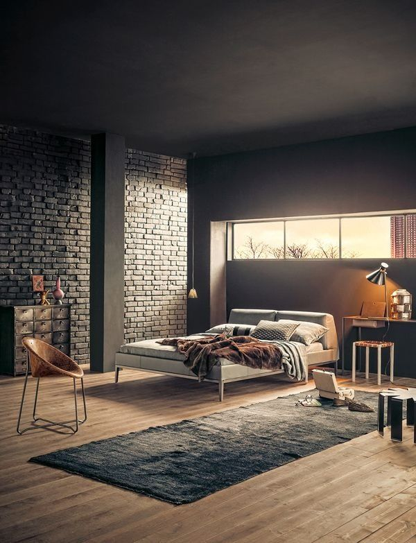 Dark bedrooms make me feel somehow...nostalgic...like California...romantic...mysterious...Tom Ford interiors in A Single Man...yet brimming with possibility, excited in a laid-back kind of way...