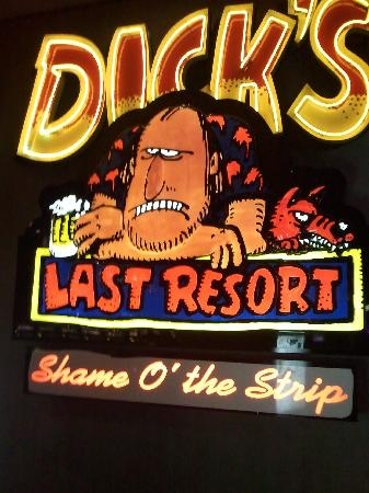 dicks last resort resturant. Gatlinburg, TN.. Hilarious, best place to eat!