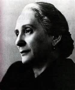 "Dolores Ibárruri ""La Pasionaria"", leader of the Communist Party during the Spanish Civil War."