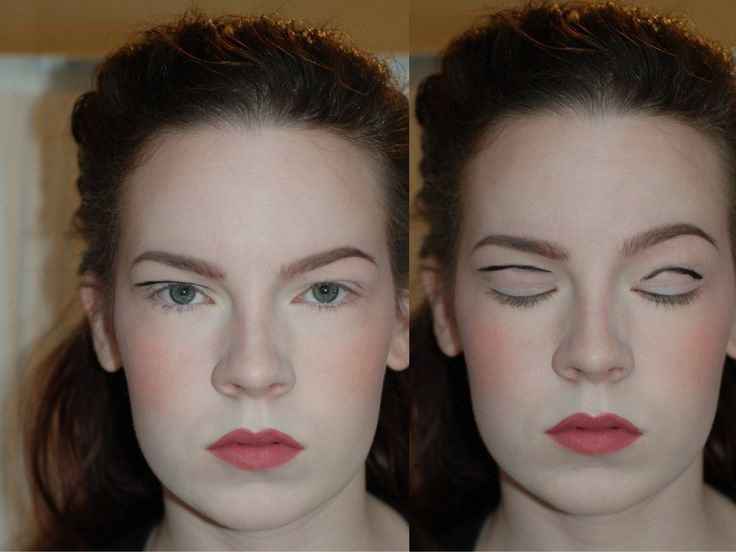 """""""Apply your makeup with your eyes open"""". eyeshadow tutorial for hooded eyes or hooded lids."""