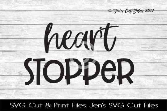 Heart Stopper SVG Cut File