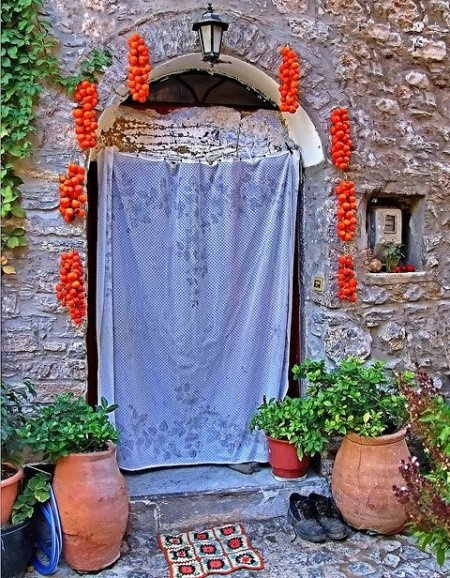 """Tomato..decoration"" Pyrgi Village - Chios Island, Greece"