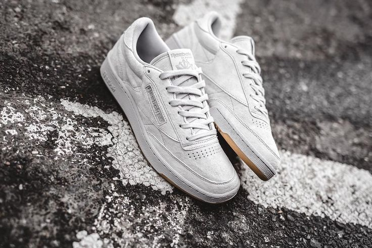 "Reebok Club C 85 ""Tonal Gum - Steel"" available in store and online at www.streetsupply.pl"