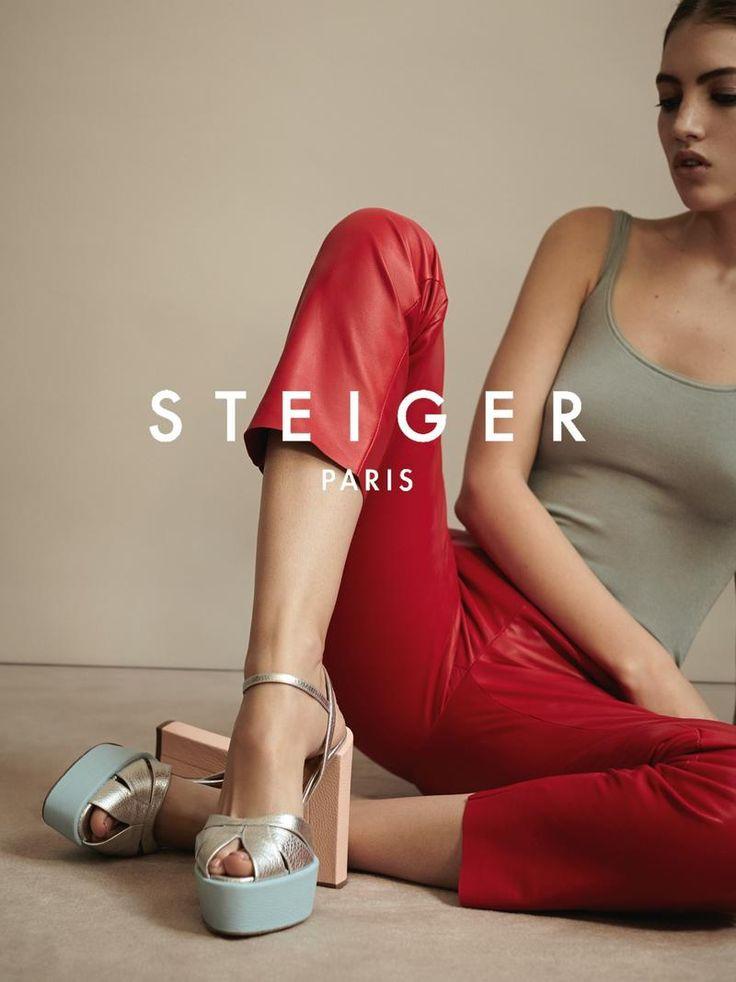 Lika Rzhevskaya Walter Steiger Spring Summer 2016 Campaigns