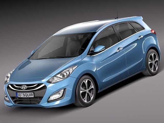 C4d Hyundai I30 Wagon 2013 - 3D Model