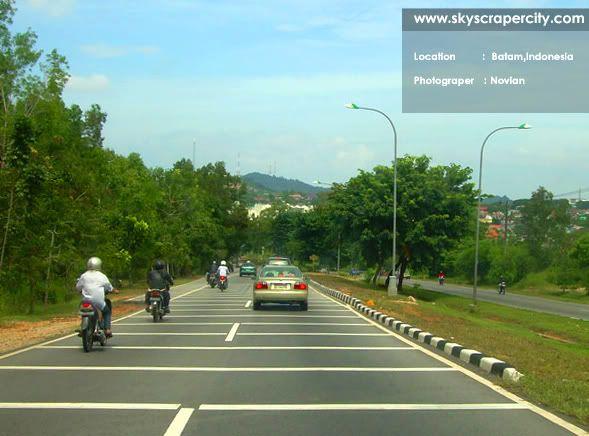#Batam wide streets