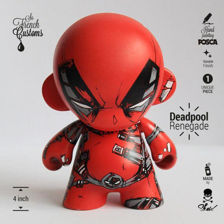 Deadpool Renegade X Venom Fury By Skeul Munny Art