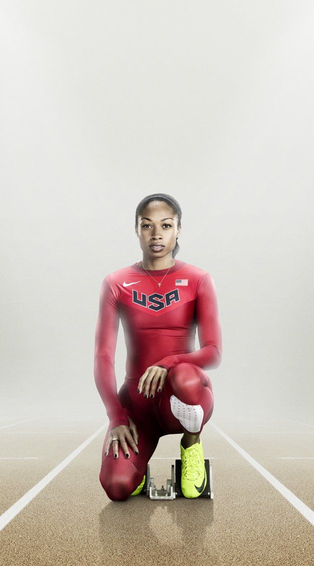 Allyson Felix- I love here and though I now run distance, I will always be a sprinter at heart!