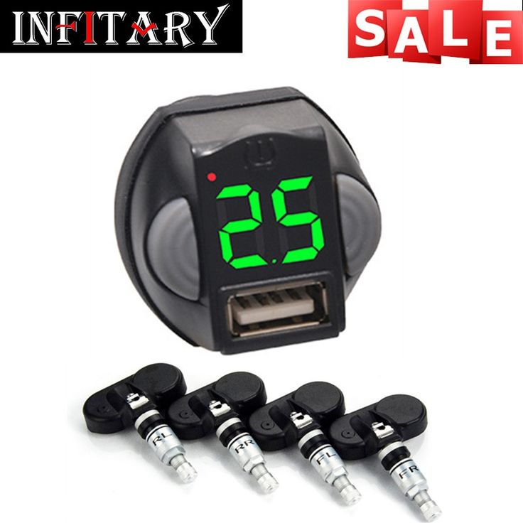 54.99$  Buy here - http://alimew.shopchina.info/1/go.php?t=32813579661 - TPMS Wireless Tire Pressure Monitoring System and USB Charging Port Cigarette Lighter Socket with 4 Sensors Auto Alarm Systems  #aliexpresschina
