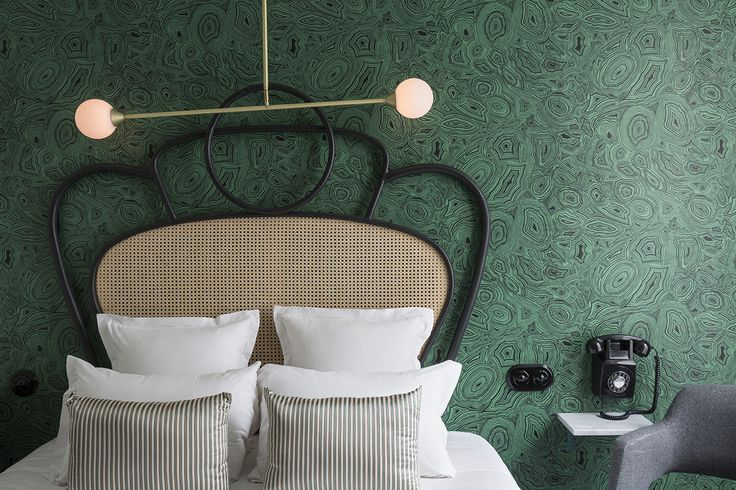 // Dorothée Meilichzon's chic Parisian hotels, restaurants, and bars are done in a style that is decidedly of-the-moment but grounded in color and texture.
