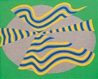 Ombrello giallo blu by Carla Accardi