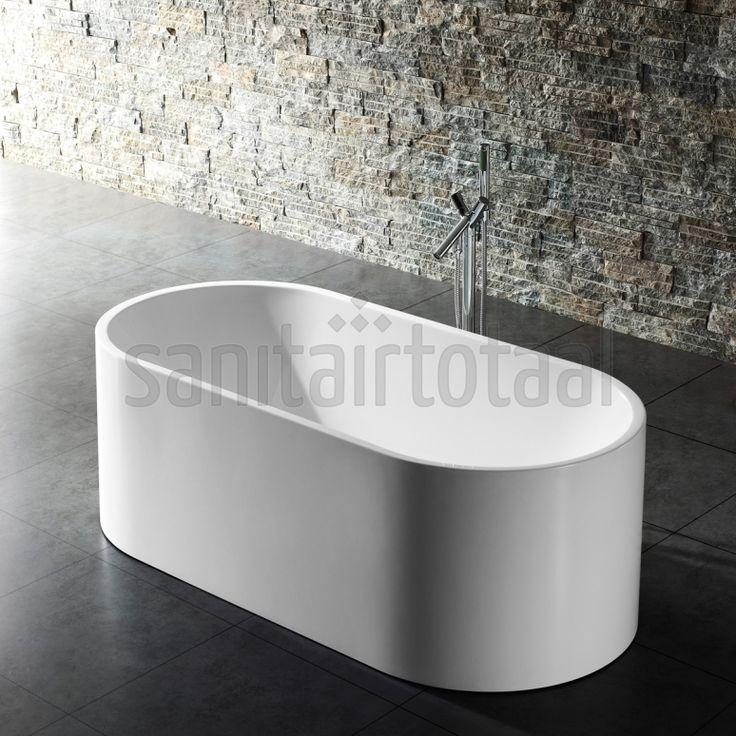 bad badkamer, vrijstaand bad slaapkamer, landelijk vrijstaand bad ...