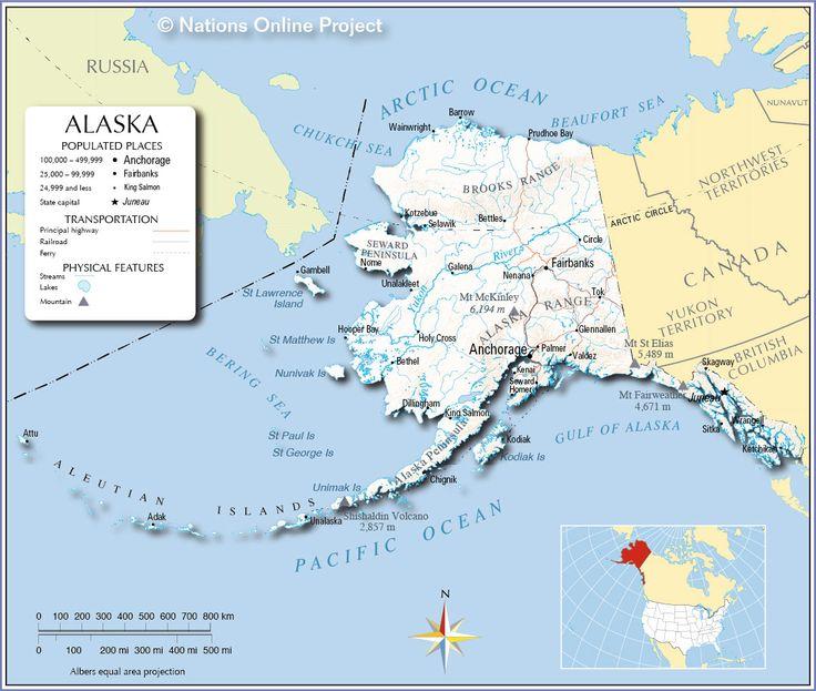 Best The State Of Alaska Images On Pinterest Alaska - Alaska in us map