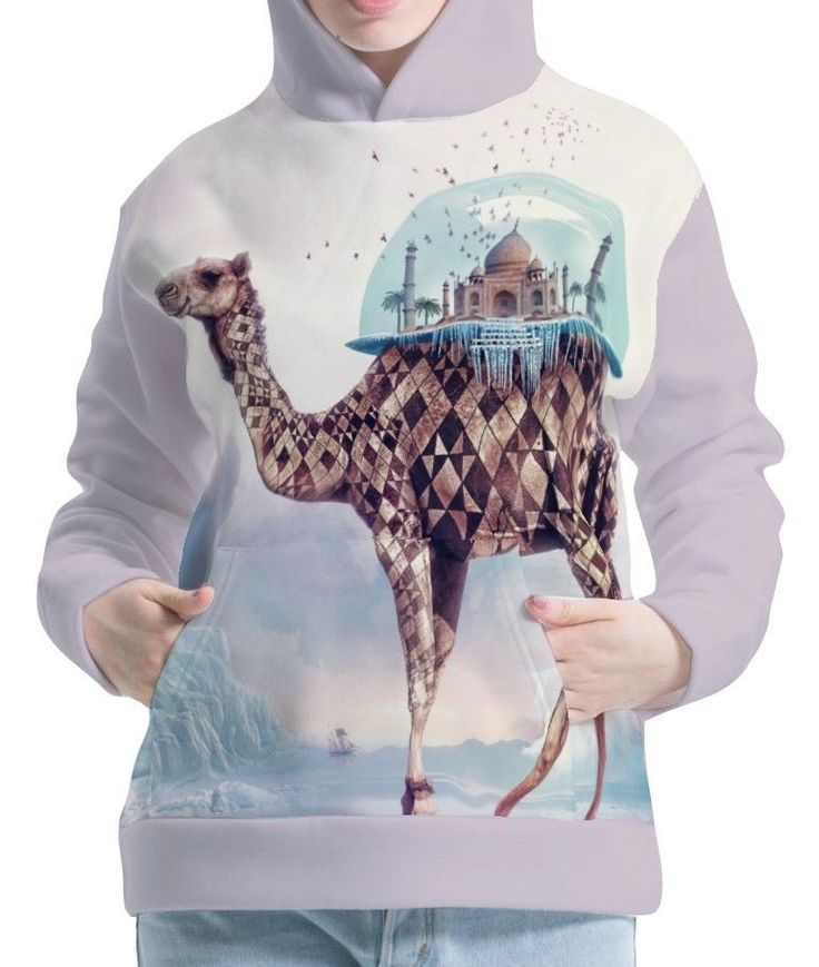 Camel Womens Hoodie Hooded Pullover Sweatshirt Wb114 Aco40147