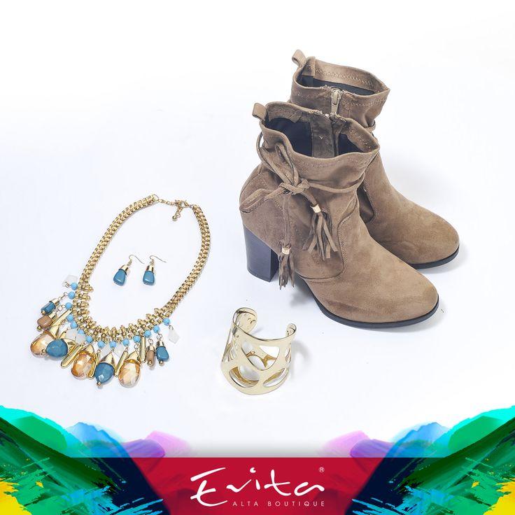 #Botines #Brazalete #Collar #Accesorios #Otoño #Invierno