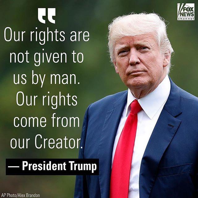 #Repost @foxnews ・・・ Earlier, President Donald #Trump addressed the National Prayer Breakfast.