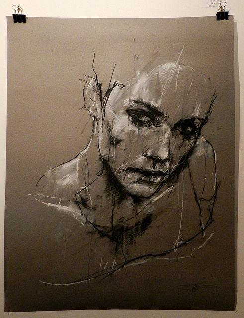 Guy Denning- love this style, it could be REALLY good for life drawing…
