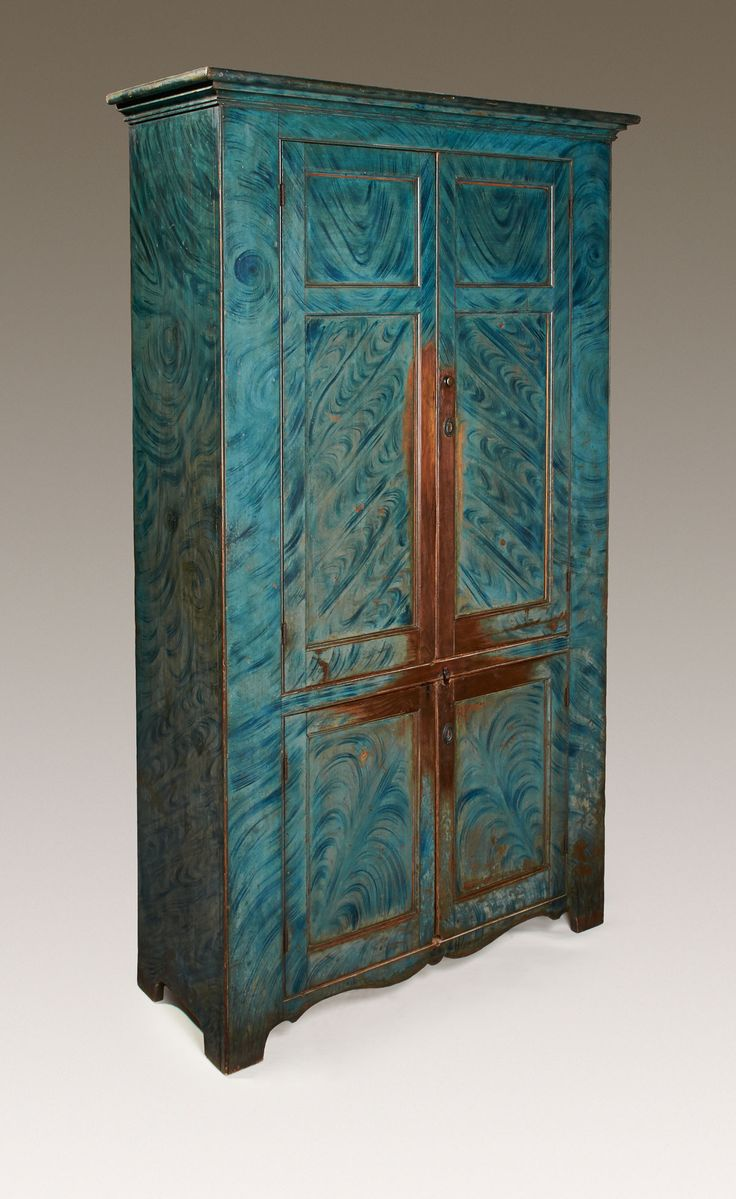An Exceptional Four-Door Cupboard | Olde Hope Antiques - 862 Best Antiques Images On Pinterest Country Furniture, Antique