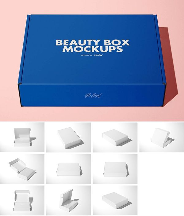 Download Creative Mailing Box Mockup Box Mockup Mockup Templates Stationary Branding