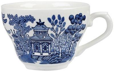 Vintage Prints Georgian Blue Willow Teacup