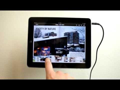 Dwell Magazine iPad App Demo - YouTube