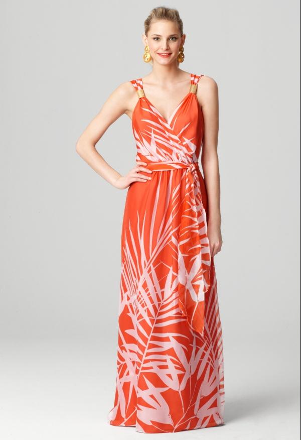 Milly samantha sleeveless maxi dress