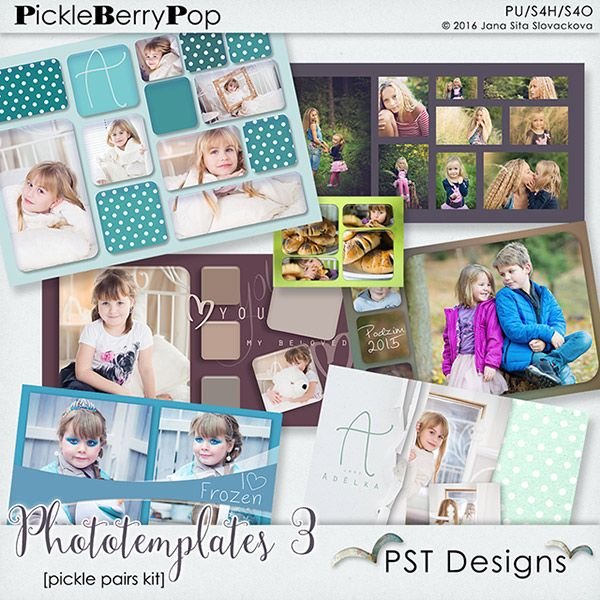 Photo Templates 3 By PST Designs