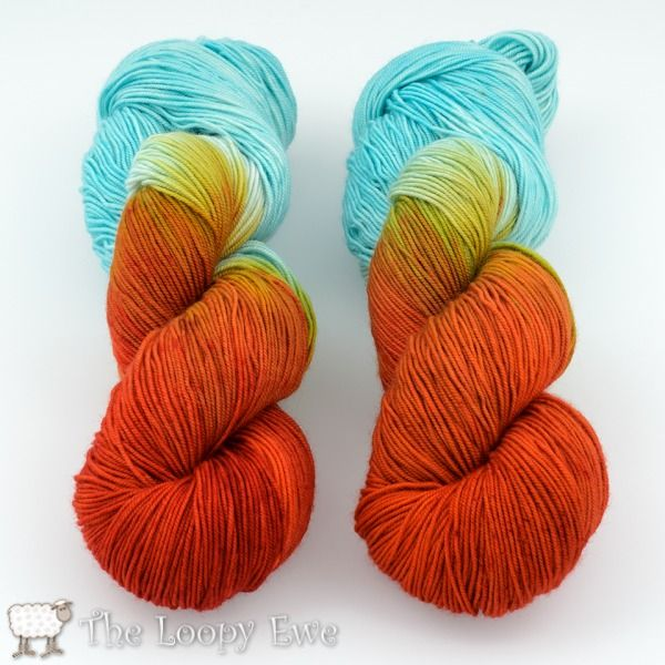 Blue Moon Fiber Arts Socks that Rock - Crabby McHappypants