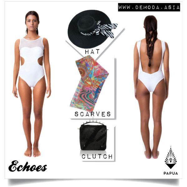 Echoes White by Papua on De Moda Asia
